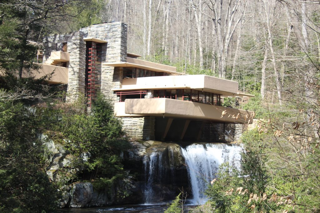 The Home Was Built Partly Over A Waterfall On Bear Run In The Mill Run  Section Of Stewart Township, Fayette County, Pennsylvania, In The Laurel  Highlands Of ... Part 77